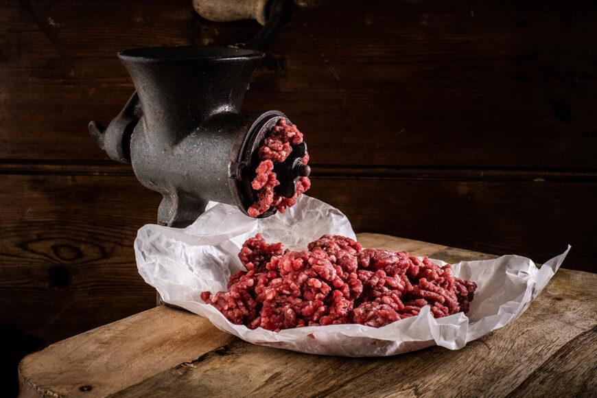 grass fed beef mince 500g