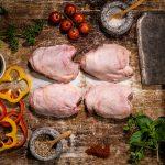 freezer meat box - free range chicken thighs