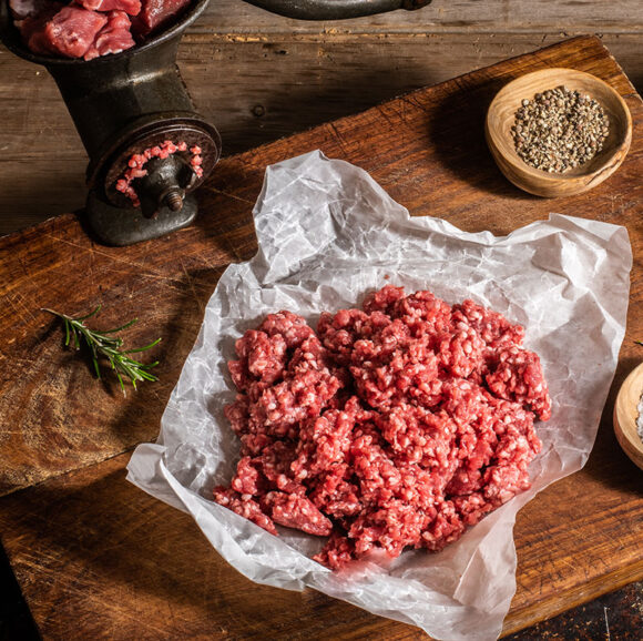 grass fed lean lamb mince
