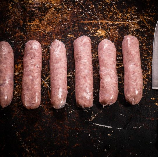 farmhouse pork sausages