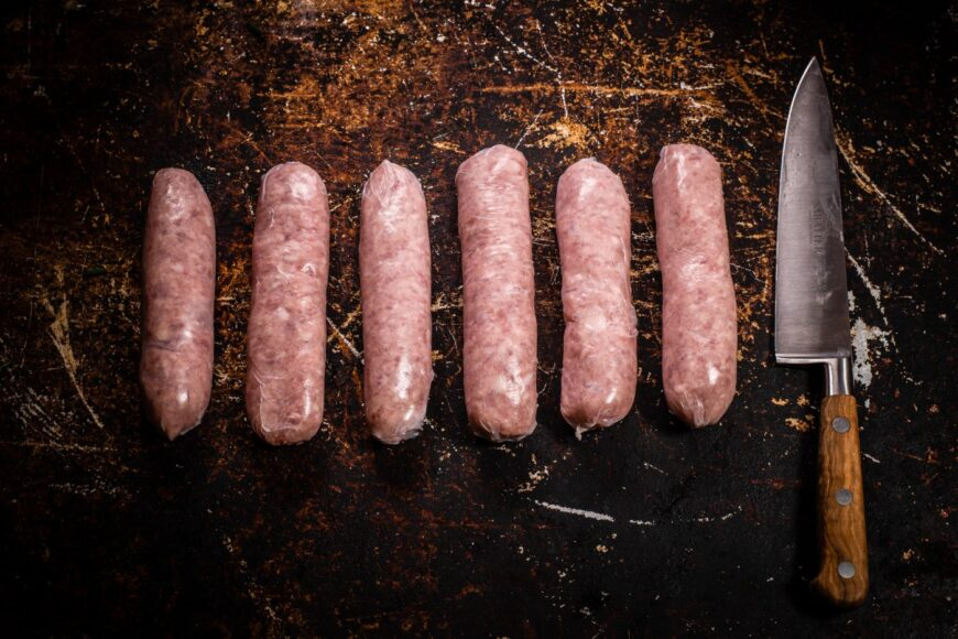 farmhouse pork sausages