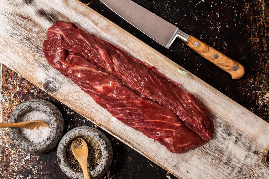 onglet steak, beef onglet, onglet,