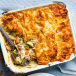 The Dorset Meat Company-Chicken and Leek Pie with Filo pastry