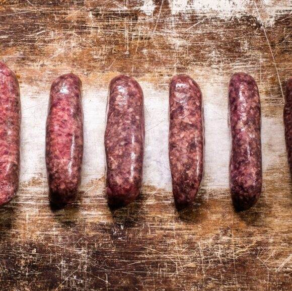 rich beef sausages