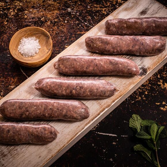 lamb sausages