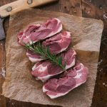 The Dorset Meat Company-Lamb Steaks and tahini