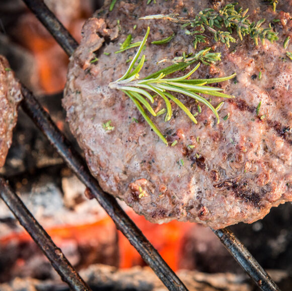 grass fed beef burgers