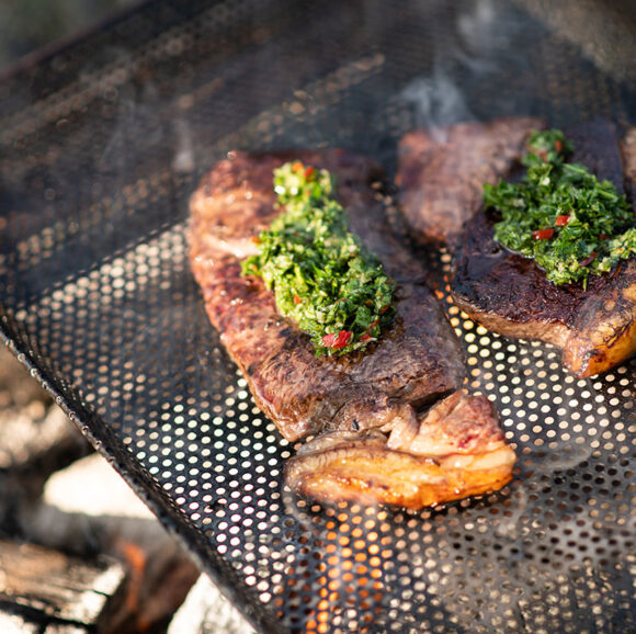 grass fed rump steak