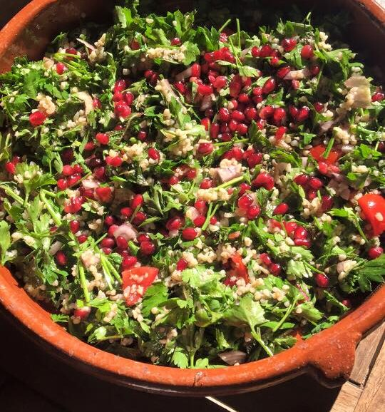 The Dorset Meat Company-Refreshing Salad to serve with grilled Lamb Steaks