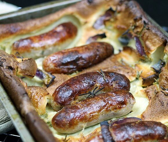 Easy to make perfect toad in the hole