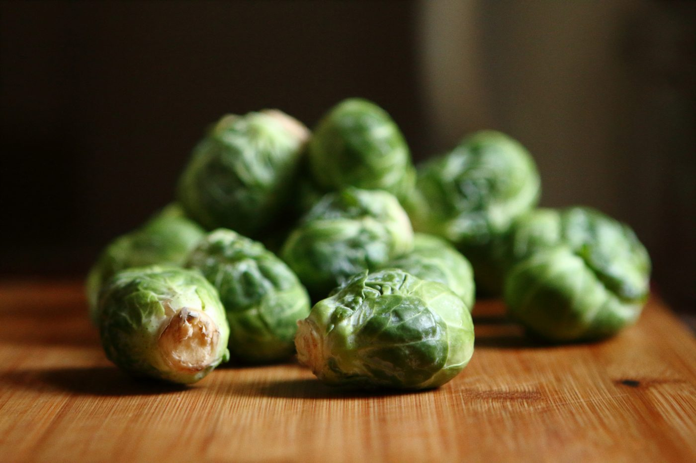 brussel sprouts with smoked lardons