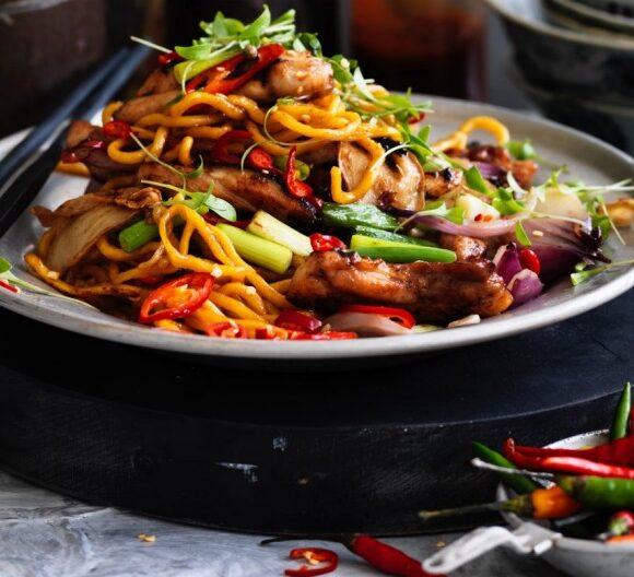Sticky Chinese Chicken