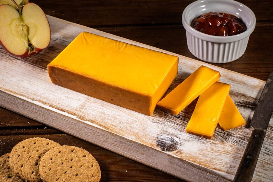dorset red smoked cheddar cheese