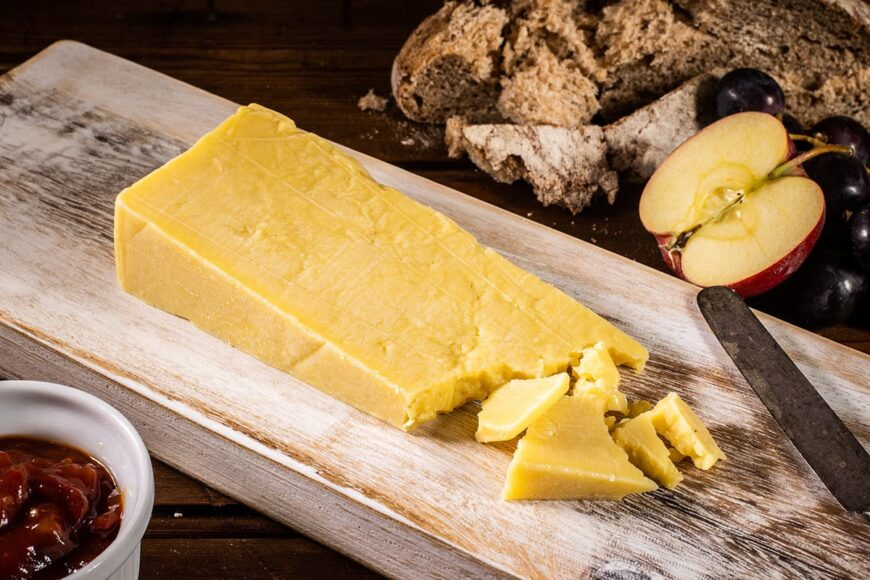 open air cheese company - west country mature cheddar cheese