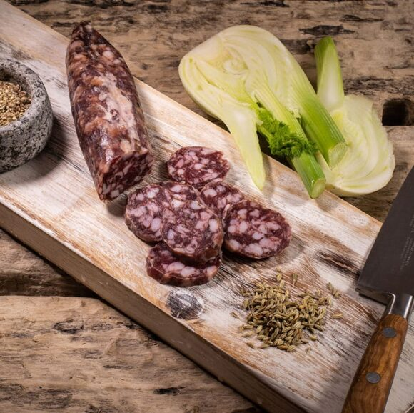 white pepper fennel salami