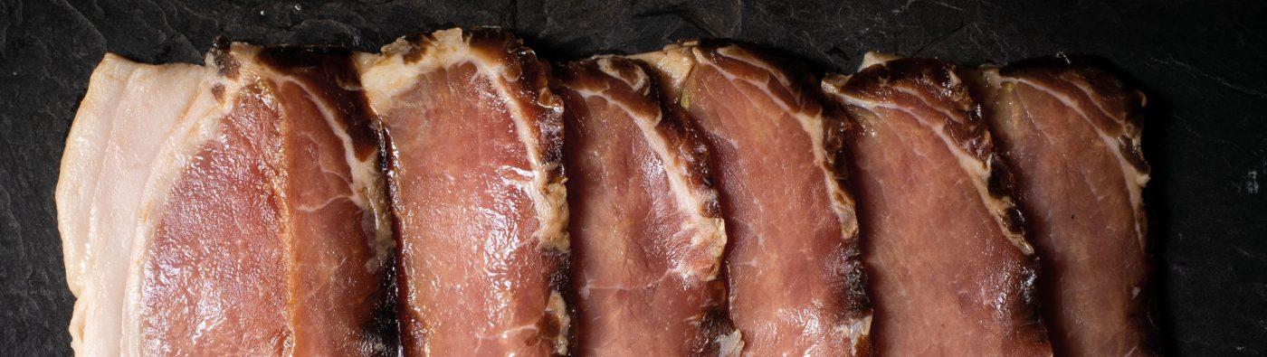 free range outdoor reared bacon