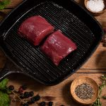 wild venison fillet steak meat box