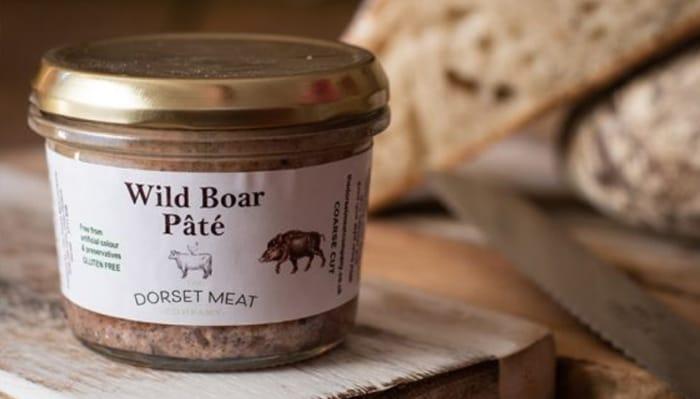 wild boar pate